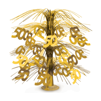Picture of 50th GOLD CASCADE CENTERPIECE