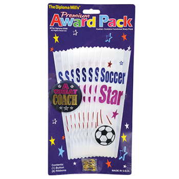 Picture of SOCCER  AWARD RIBBON PACK