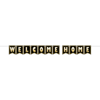 Image de DECOR - WELCOME HOME BANNER