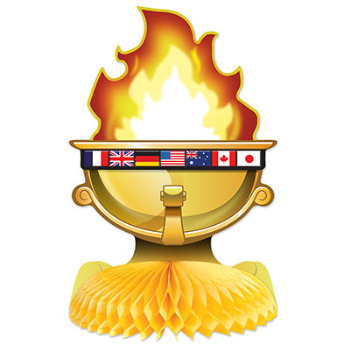 Picture of SPORTS - OLYMPIC FLAME DECORATION