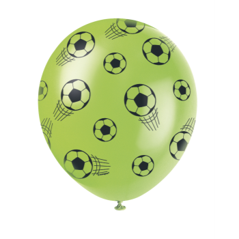 """Picture of SOCCER - 12"""" SOCCER LATEX BALLOONS"""