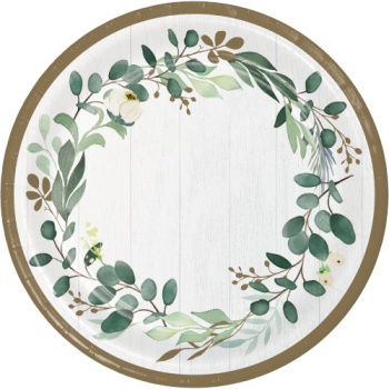"""Picture of EUCALYPTUS GREENS - 9"""" PLATES"""