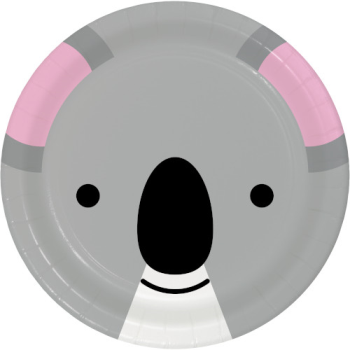 """Picture of ANIMAL FACES - KOALA - 9"""" PLATES"""