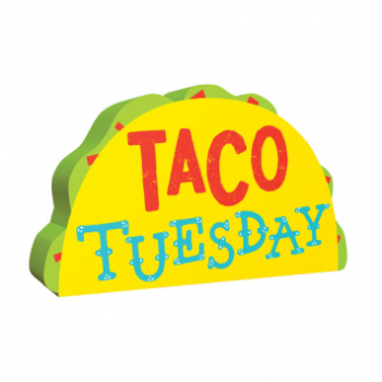Picture of MINI TACO TUESDAY STANDING MDF DIGN