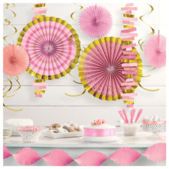 Image de BABY SHOWER DECORATING KIT - GIRL