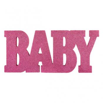 Image de DECOR - BABY STANDING MDF SIGN - GIRL