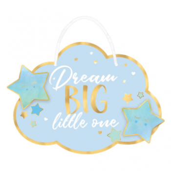 Image de OH BABY BOY HANGING SIGN