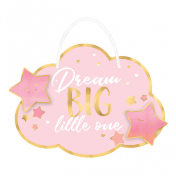 Image de OH BABY GIRL HANGING SIGN
