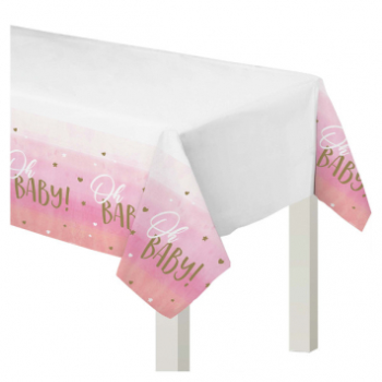 Picture of OH BABY GIRL PLASTIC TABLE COVER