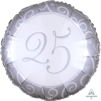"Picture of 18"" FOIL - 25TH ANNIVERSARY"