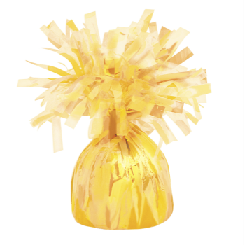 Image de FOIL BALLOON WEIGHT-YELLOW