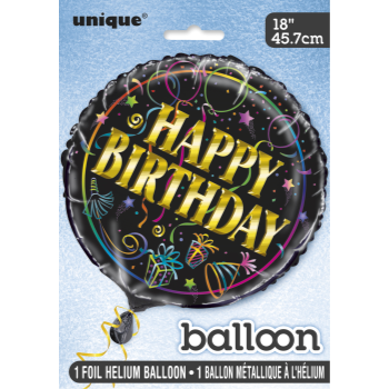 "Image de 18"" FOIL - BIRTHDAY BRILLIANCE"