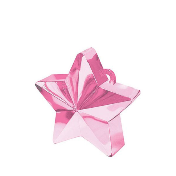 Picture of PLASTIC STAR  BALLOON WEIGHT - PINK