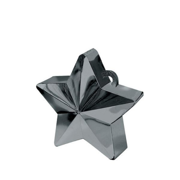 Picture of PLASTIC STAR  BALLOON WEIGHT - BLACK