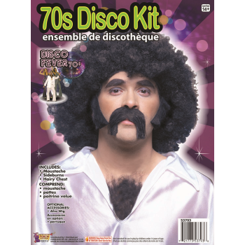 Image de 70'S DISCO HAIR KIT