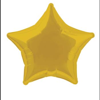"""Image de 20"""" FOIL - GOLD STAR"""