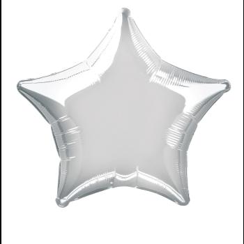 """Image de 20"""" FOIL - SILVER STAR"""