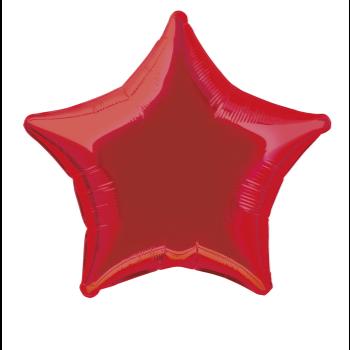 "Image de 20"" FOIL - RED STAR"