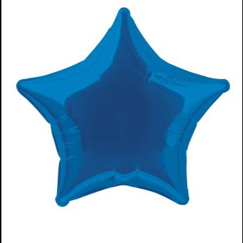"""Image de 20"""" FOIL - ROYAL BLUE STAR"""