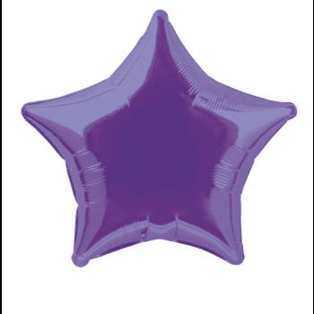 "Image de 20"" FOIL - PURPLE STAR"