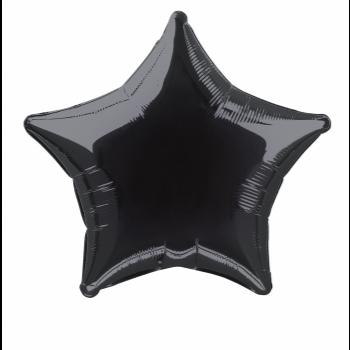"""Image de 20"""" FOIL - BLACK STAR"""