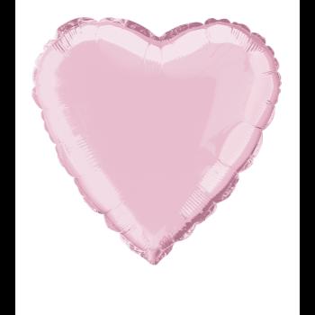 """Image de 18"""" FOIL - LT PINK HEART"""