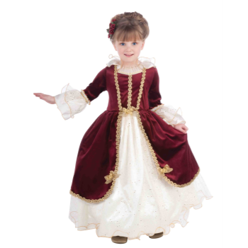 Picture of ELEGANT LADY DRESS CHILD COSTUME - SMALL