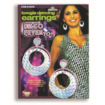Image de 70'S DISCO BOOGIE DANCING EARRINGS