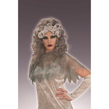 Image de GHOSTLY GAL GREY WIG