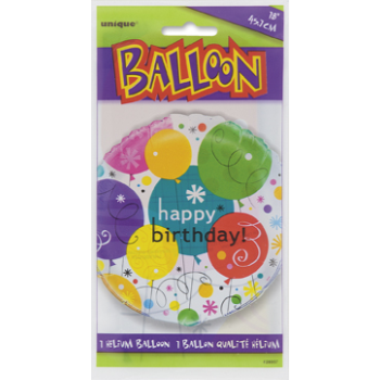 "Image de 18"" FOIL - BREEZY BIRTHDAY"