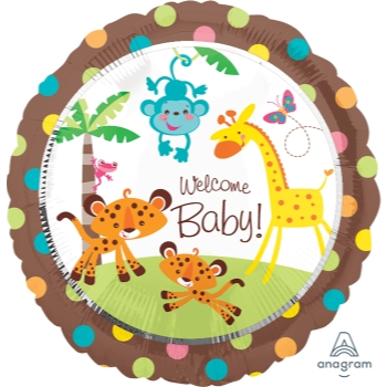 """Image de FISHER PRICE WELCOME BABY 18"""" FOIL BALLOON"""