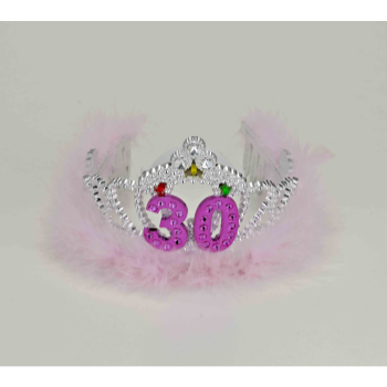 Picture of 30th - FLASHING BIRTHDAY TIARA