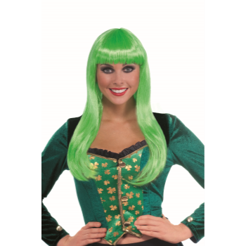 Image de LONG GREEN WIG