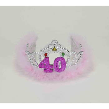 Picture of 40th - FLASHING BIRTHDAY TIARA