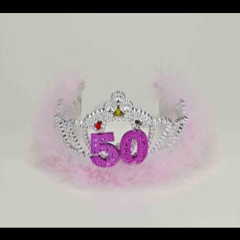 Picture of 50th - FLASHING BIRTHDAY TIARA