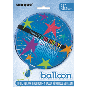 "Image de 18"" FOIL -  COSMIC BIRTHDAY"