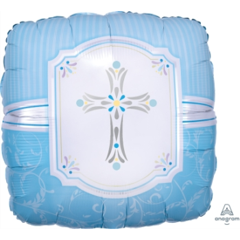 "Image de 18"" FOIL - BLESSINGS BLUE"