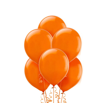 "Picture of 12"" ORANGE BALLOONS"