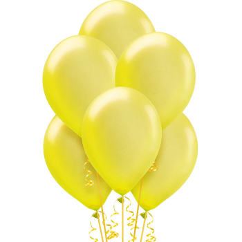 "Picture of 12"" YELLOW BALLOONS"