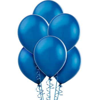 "Picture of 12"" ROYAL BLUE BALLOONS"
