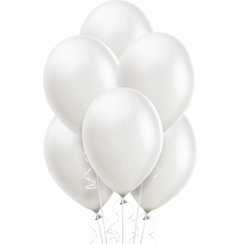 "Picture of 12"" WHITE BALLOONS"