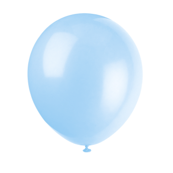 "Picture of 12"" LIGHT BLUE BALLOONS"