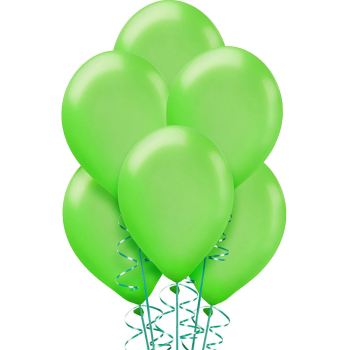 "Picture of 12"" LIME GREEN BALLOONS"