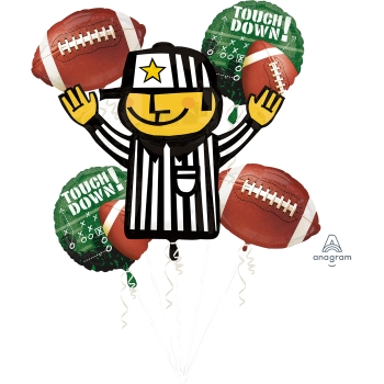 Picture of FOOTBALL & REFEREE FOIL BOUQUET