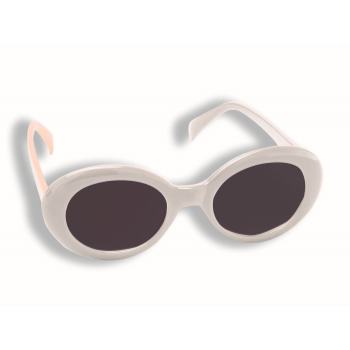 Image de 60'S MOD TINTED GLASSES - WHITE