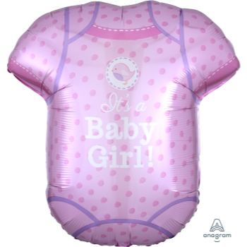 Image de SHOWER WITH LOVE PINK ONESIE SUPERSHAPE