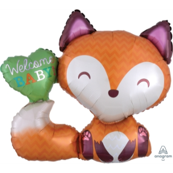 Image de WELCOME BABY FOX SUPERSHAPE