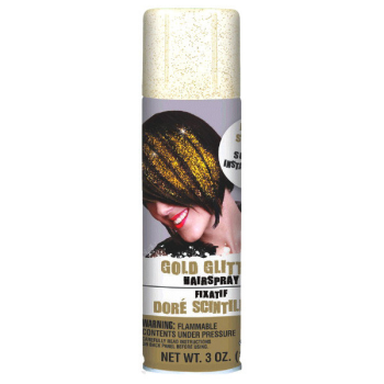 Image de GOLD GLITTER - COLOR HAIRSPRAY