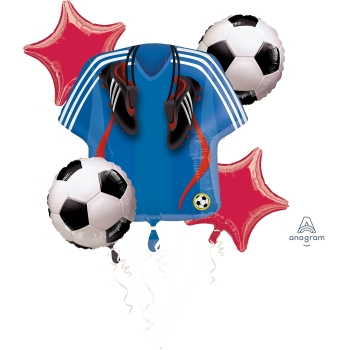 Picture of SOCCER FOIL BOUQUET