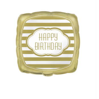 "Image de 18"" FOIL - GOLDEN BIRTHDAY"